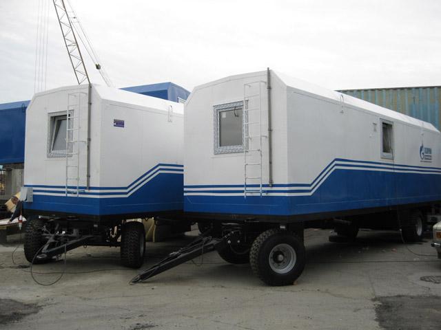 Мобильные здания (вагон-дома)