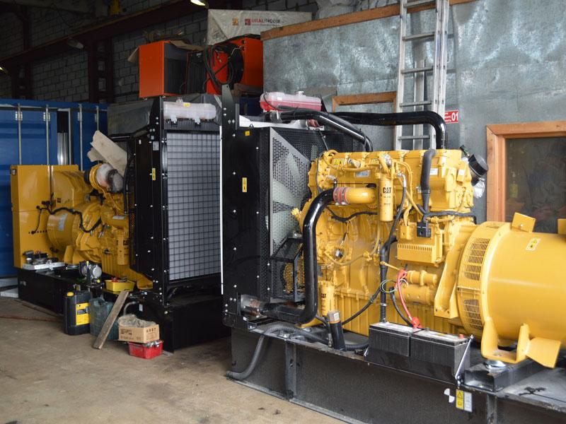Дизельгенераторы Cat C-15 отгружены в Нижневартовск