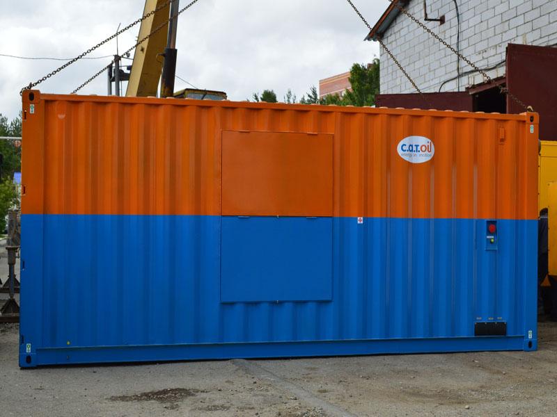 В Сургут отгружены 4 дизельные электростанции в блок контейнерах типа Север для постоянного электроснабжения месторождений нефтедобывающей компании